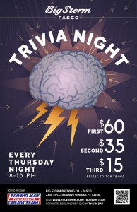 Trivia Night Thurs