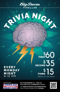 Trivia Night on Monday