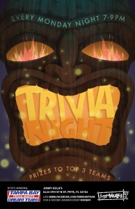 Jimmy Hula's Trivia Night Monday